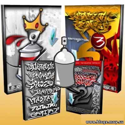 Графіті шрифти / графити шрифты